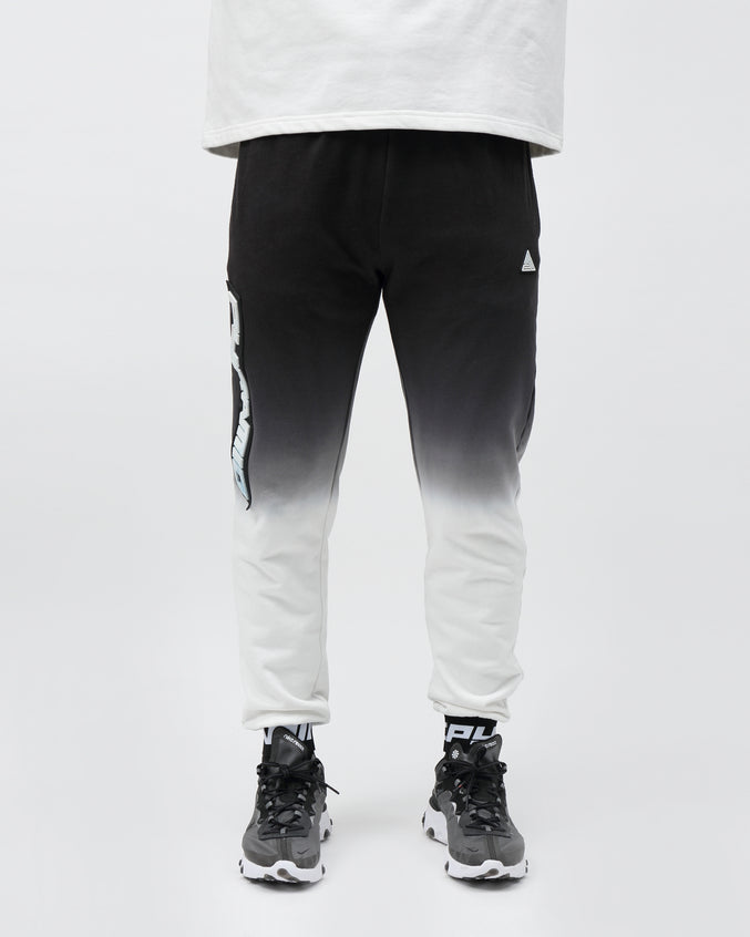 DIP DYE PASTEL PANT - Color: BLACK