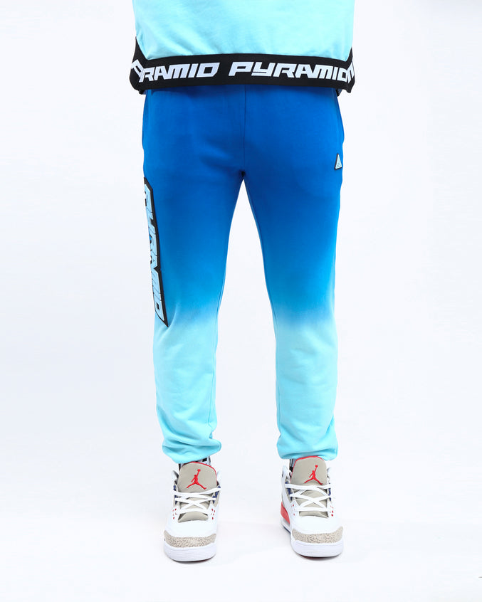 DIP DYE PASTEL PANT - Color: BLUE