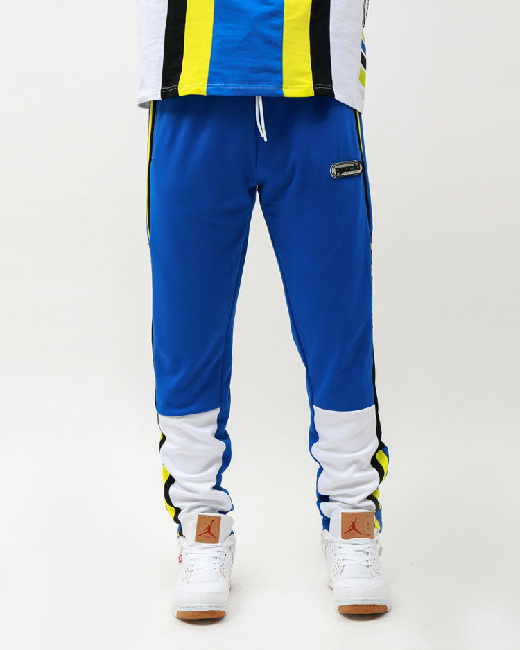 TEAM OHB STRIPE PANT-COLOR: ROYAL BLUE