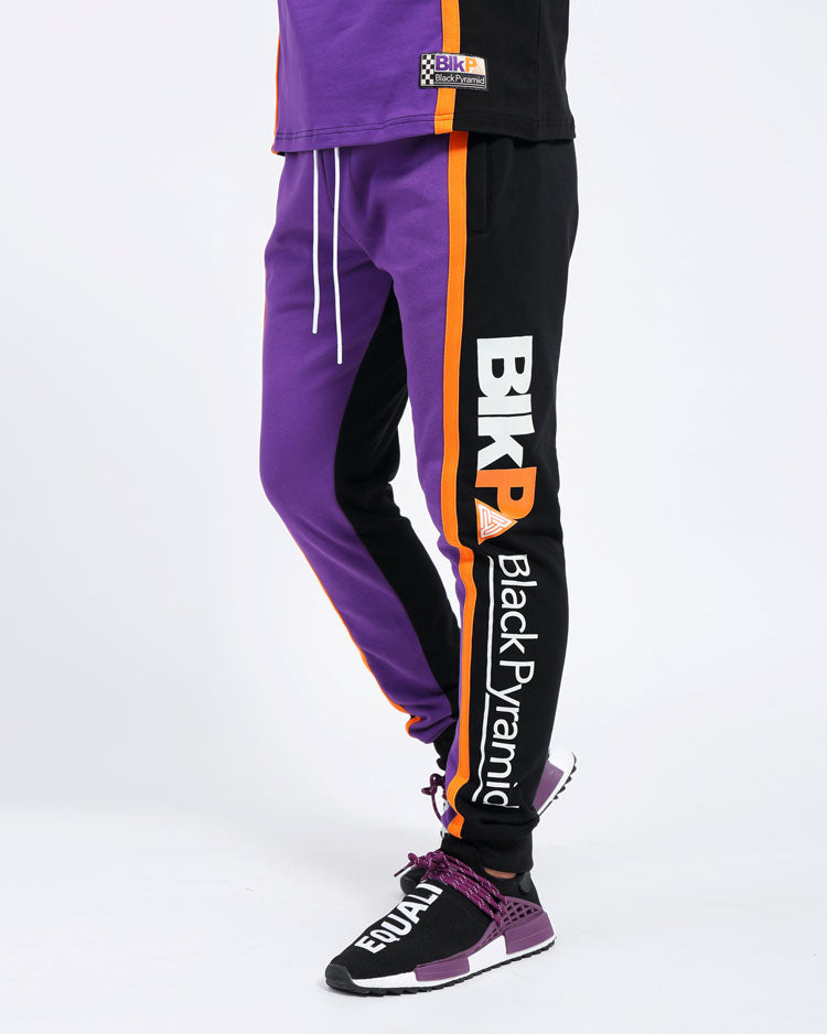 PIT CREW BLK P JOGGERS-COLOR: ROYAL BLUE