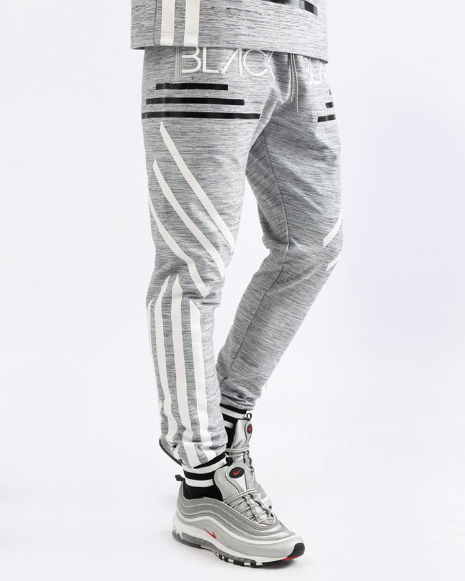BLACK CYBER PANTS-COLOR: HEATHER GRAY
