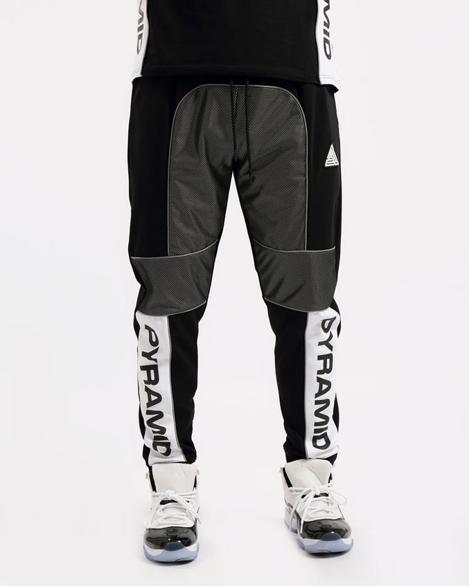 BIG AND TALL USA REFLECTIVE PANT-COLOR: BLACK