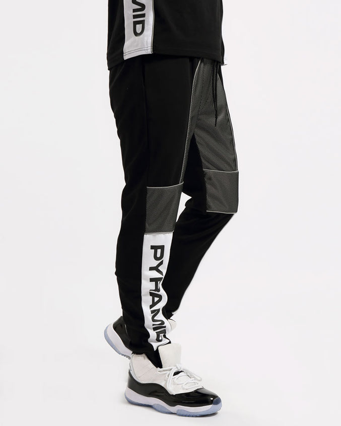 USA REFLECTIVE PANT-COLOR: BLACK