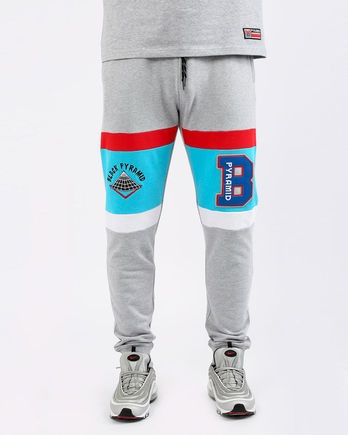 COLLEGE HOME JOGGERS-COLOR: HEATHER GRAY