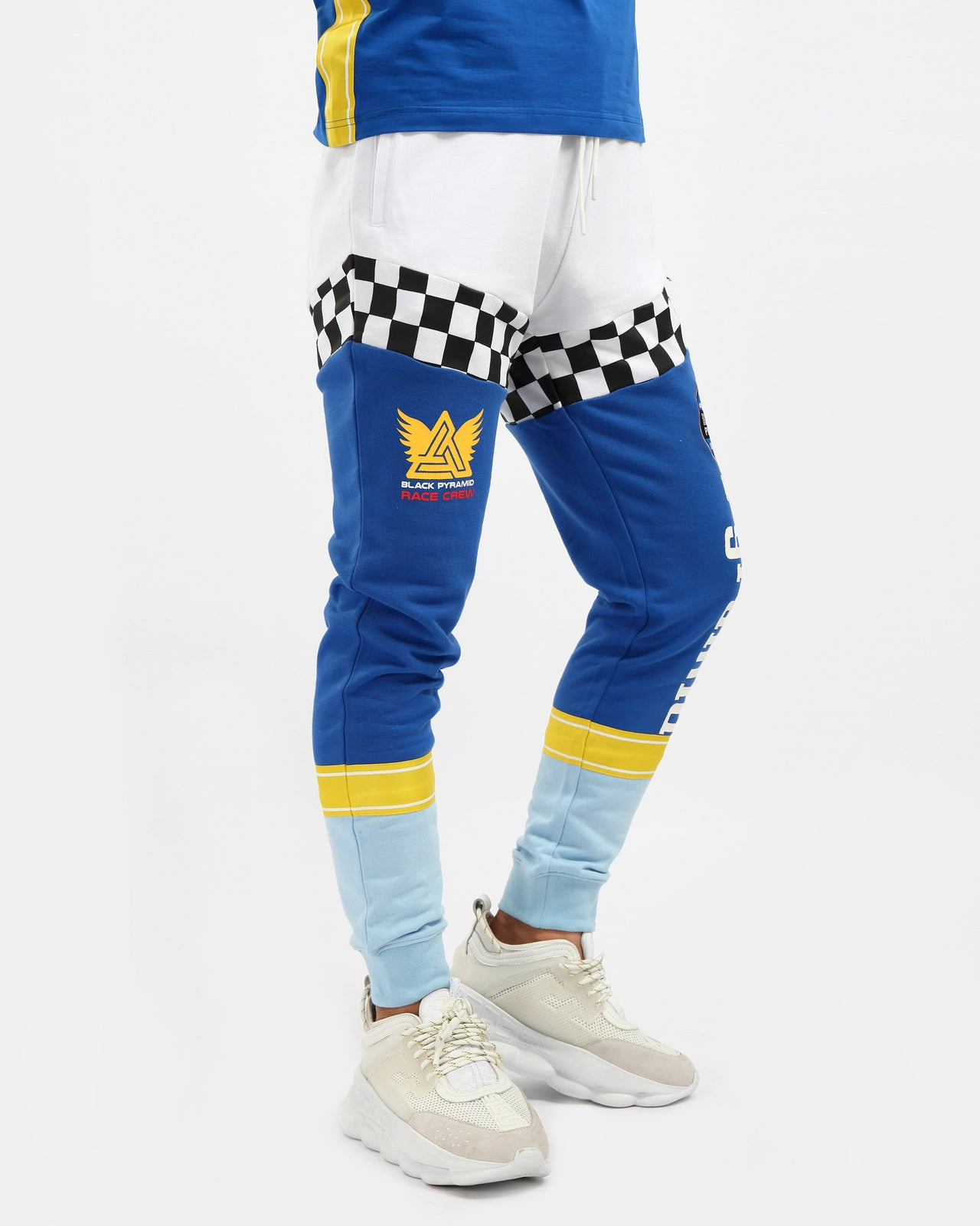 VINTAGE SPEED RACER JOGGER-COLOR: BLUE