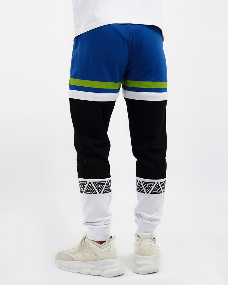 PYRAMID SPORT CYCLING PANTS-COLOR: BLUE