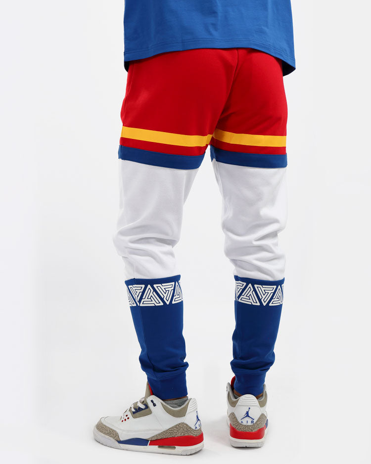 PYRAMID SPORT CYCLING PANTS-COLOR: RED