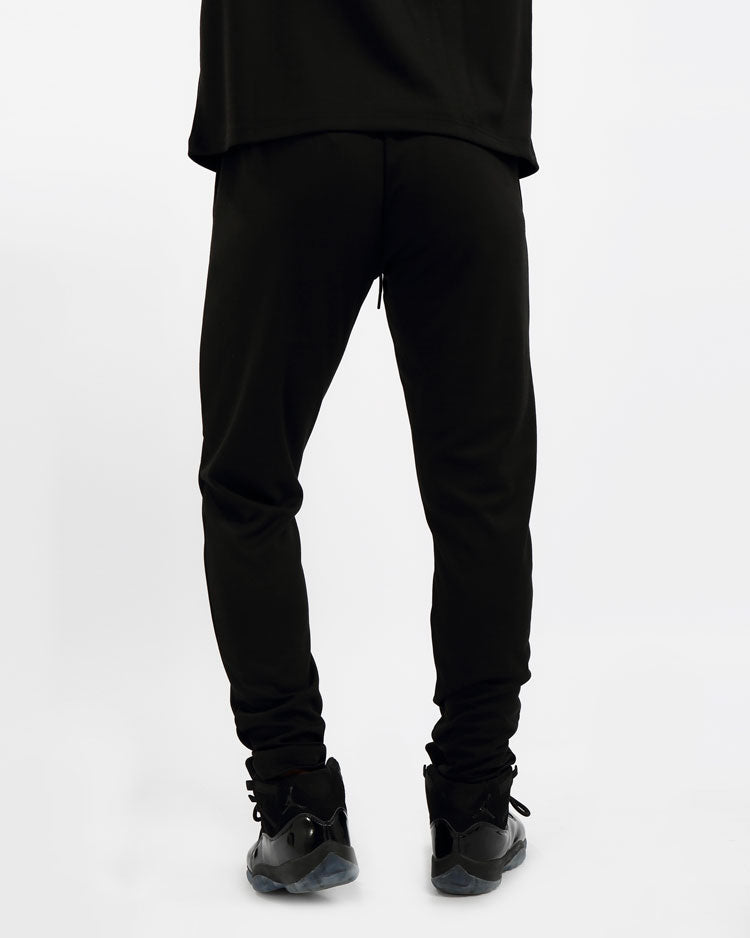 GREASE MONKEY PANTS-COLOR: BLACK