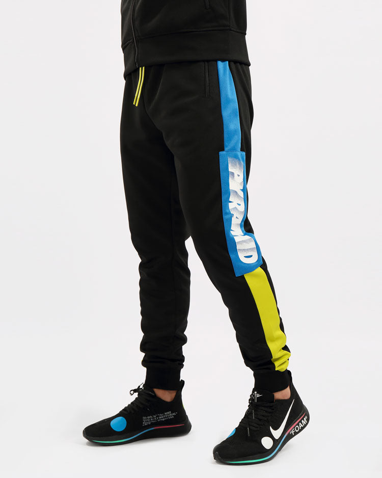 SPEED PIECED PANT-COLOR: BLACK