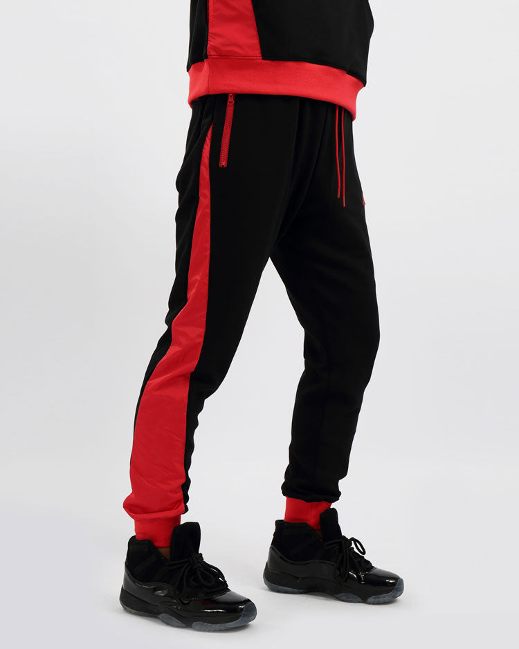 FLIGHT INSET PANT-COLOR: BLACK