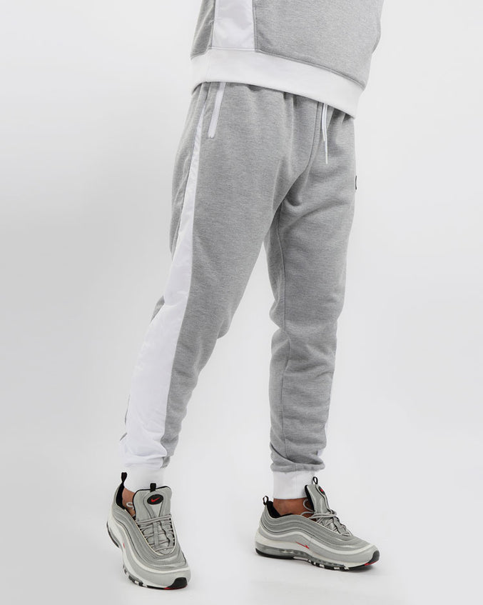 FLIGHT INSET PANT-COLOR: HEATHER GRAY
