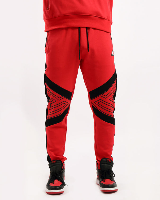 MAZE PANT-COLOR: RED