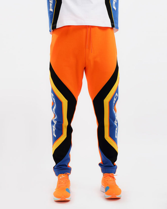 MAZE MOTO PANT-COLOR: ORANGE
