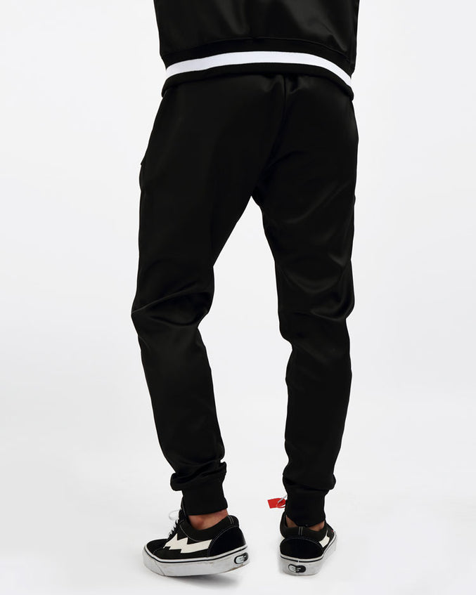 POLAR PANTS-COLOR: BLACK