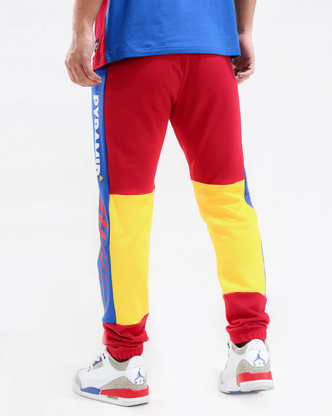 1989 PANT-COLOR: RED