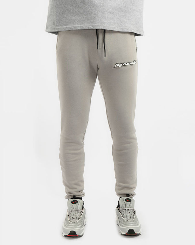 CORE 3D RUBBER PATCH PANT-COLOR:  HEATHER GRAY