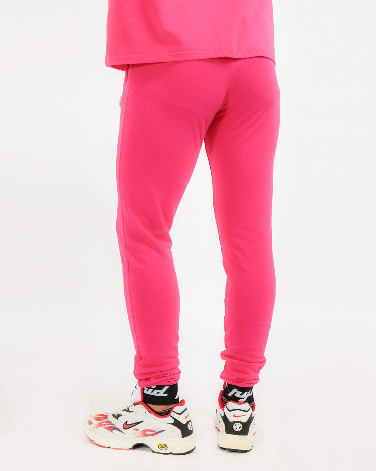 CORE 3D RUBBER PATCH PANT-COLOR: PINK
