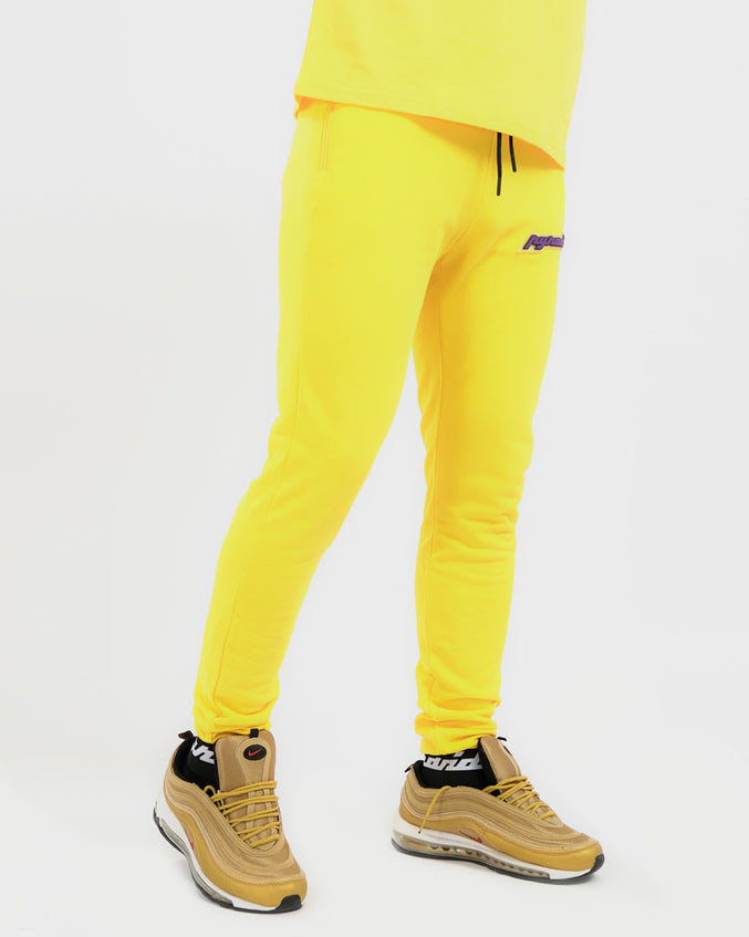 CORE 3D RUBBER PATCH PANT-COLOR: YELLOW