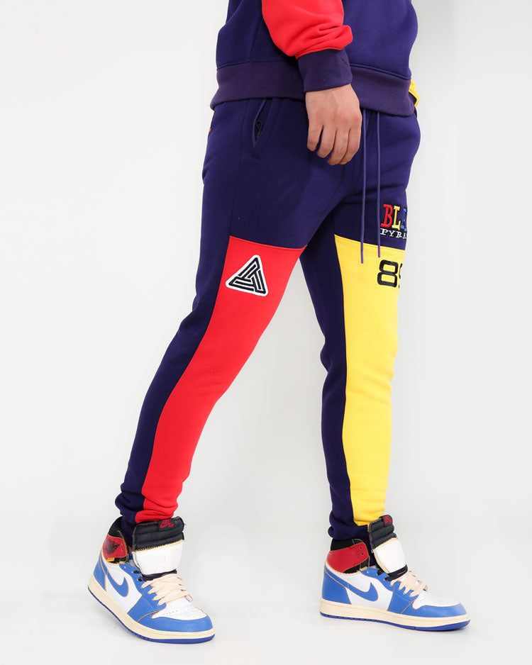 BIG AND TALL 90S KINDA SWERVE JOGGERS-COLOR: BLUE
