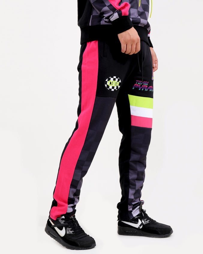 TEAM PYRAMID PANTS-COLOR: BLACK