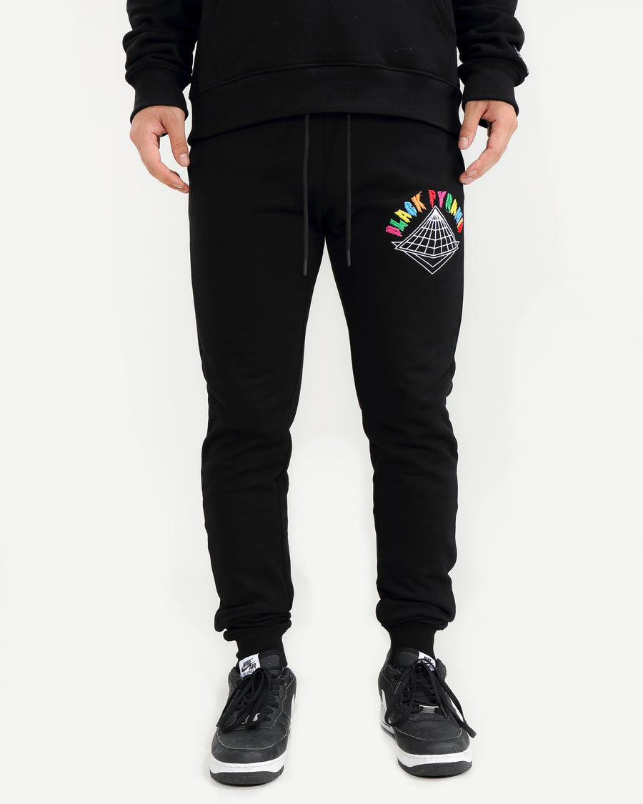 COLORS DRIP LOGO PANTS