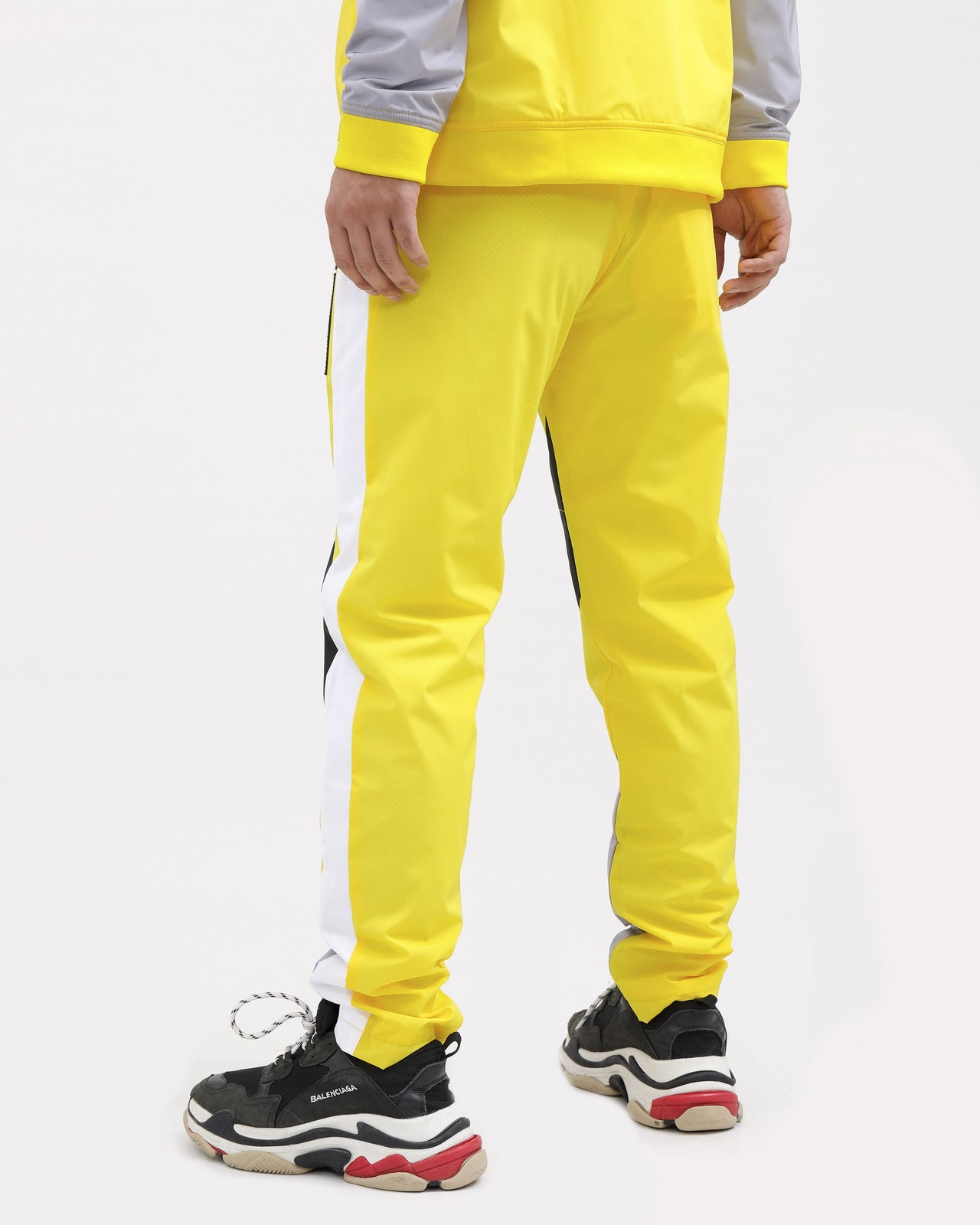 WORLDWIDE PULLOVER PANTS-COLOR: BLACK