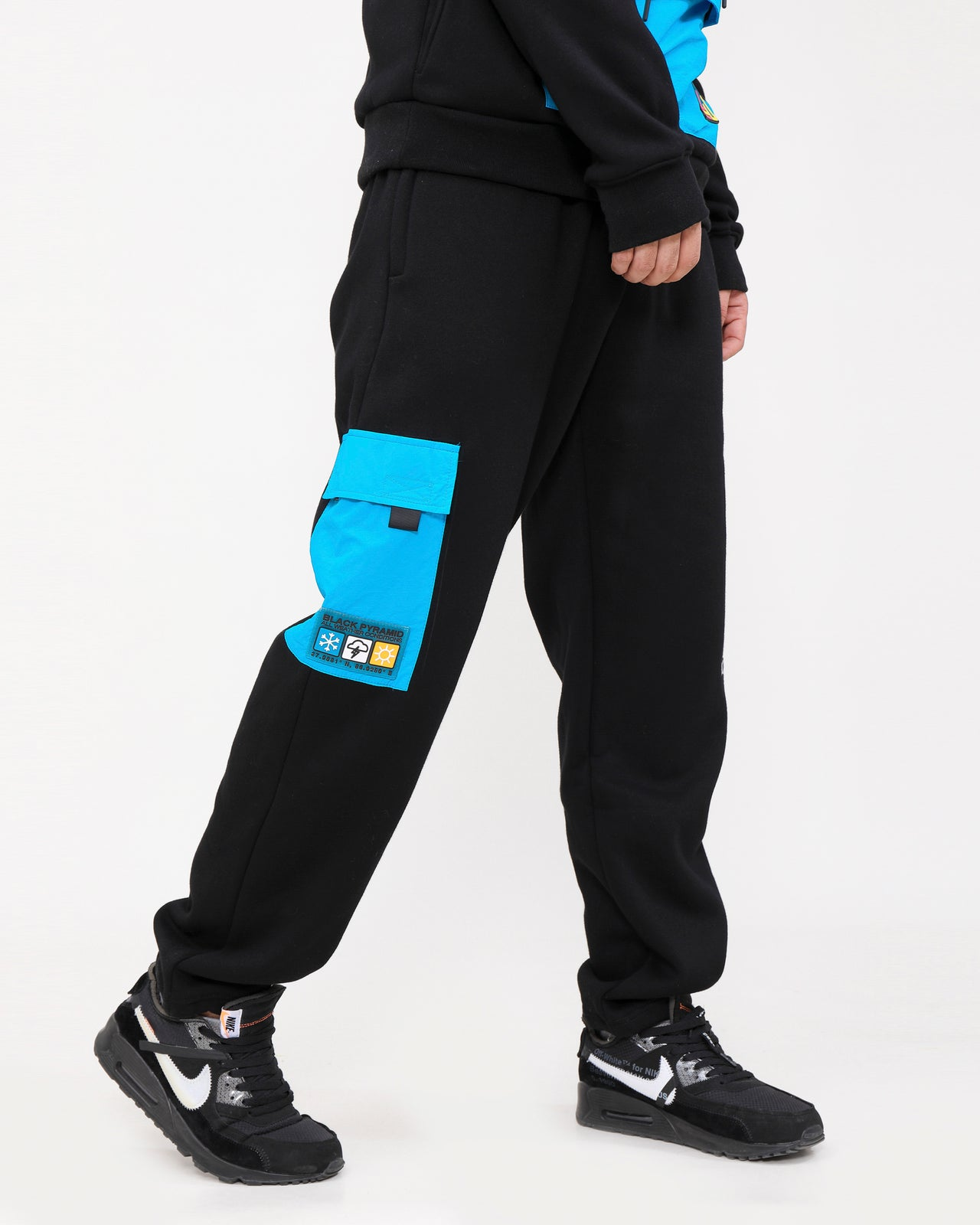 AWC PANT-COLOR: BLACK