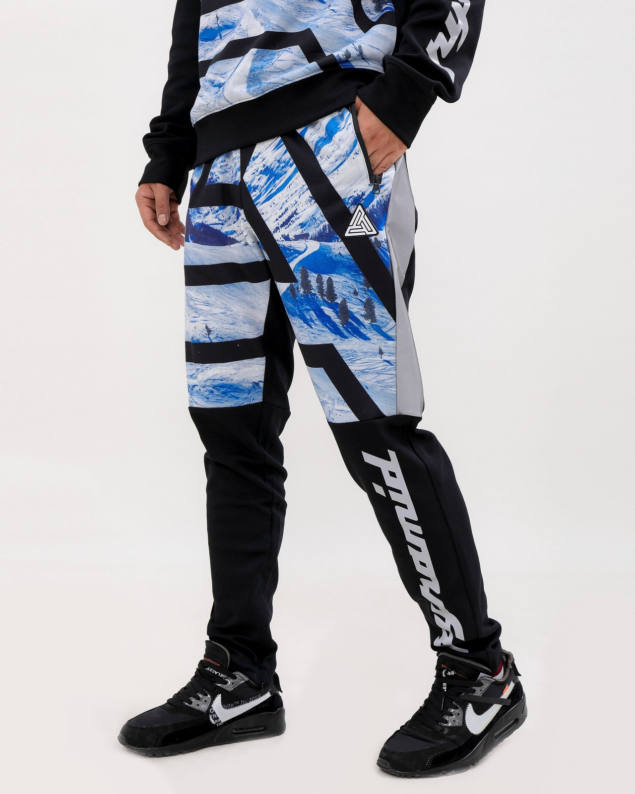 Maze BP Ski Track Pants-COLOR: BLACK