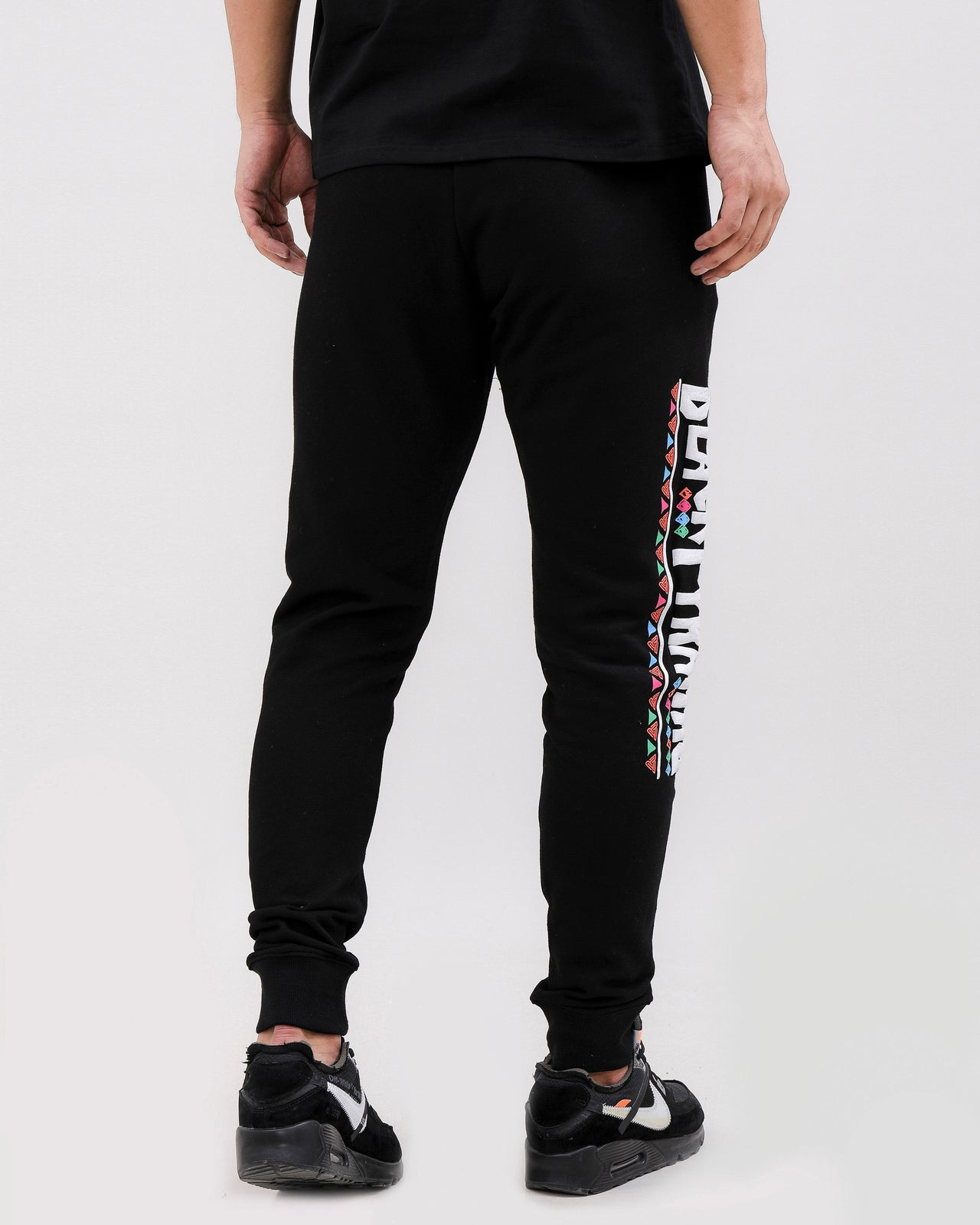 CHOICES PANTS-COLOR: BLACK