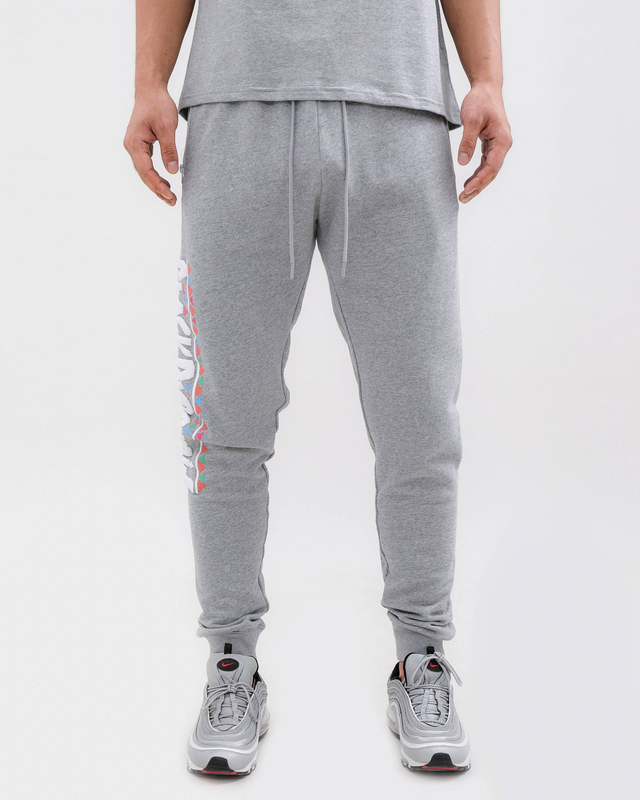 CHOICES PANTS-COLOR: HEATHER GRAY