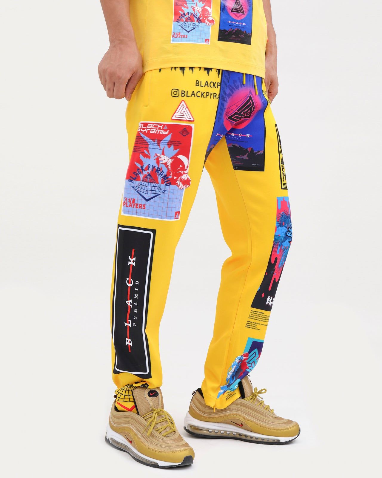 FUTURE RELIC PANTS-COLOR: YELLOW