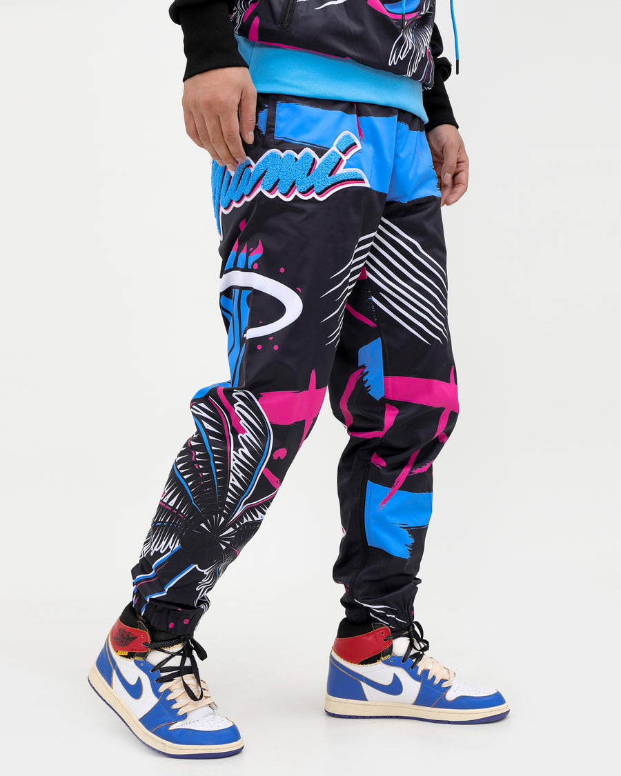 MIAMI HEAT VICE TEAM LOGO PANT