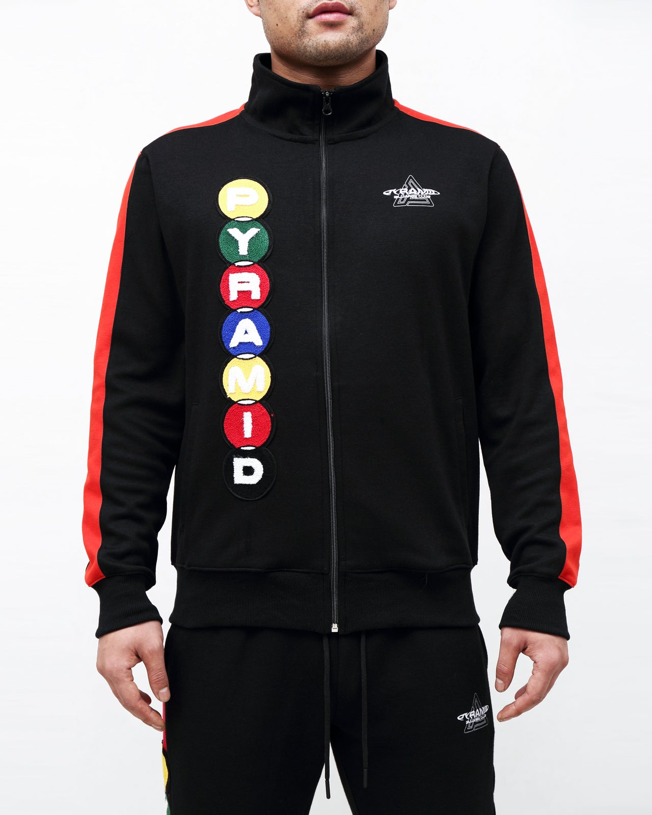 BILLIARD CLUB TRACK JKT- Color: Black