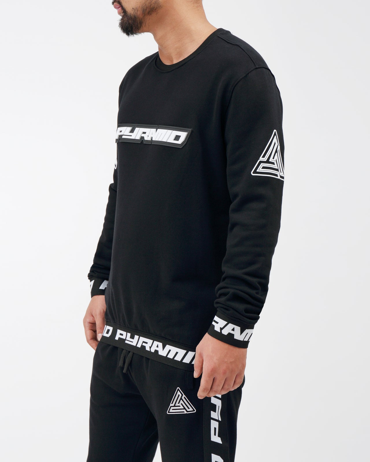 Pyramid Sweatshirt - Color: Black