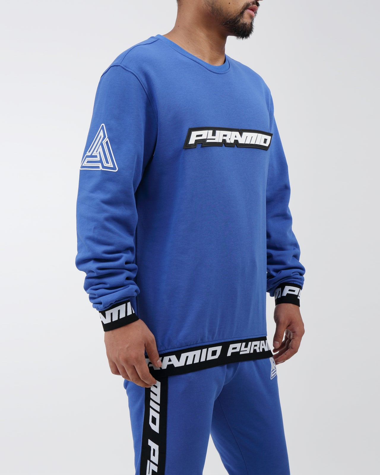 Pyramid Sweatshirt - Color: Blue