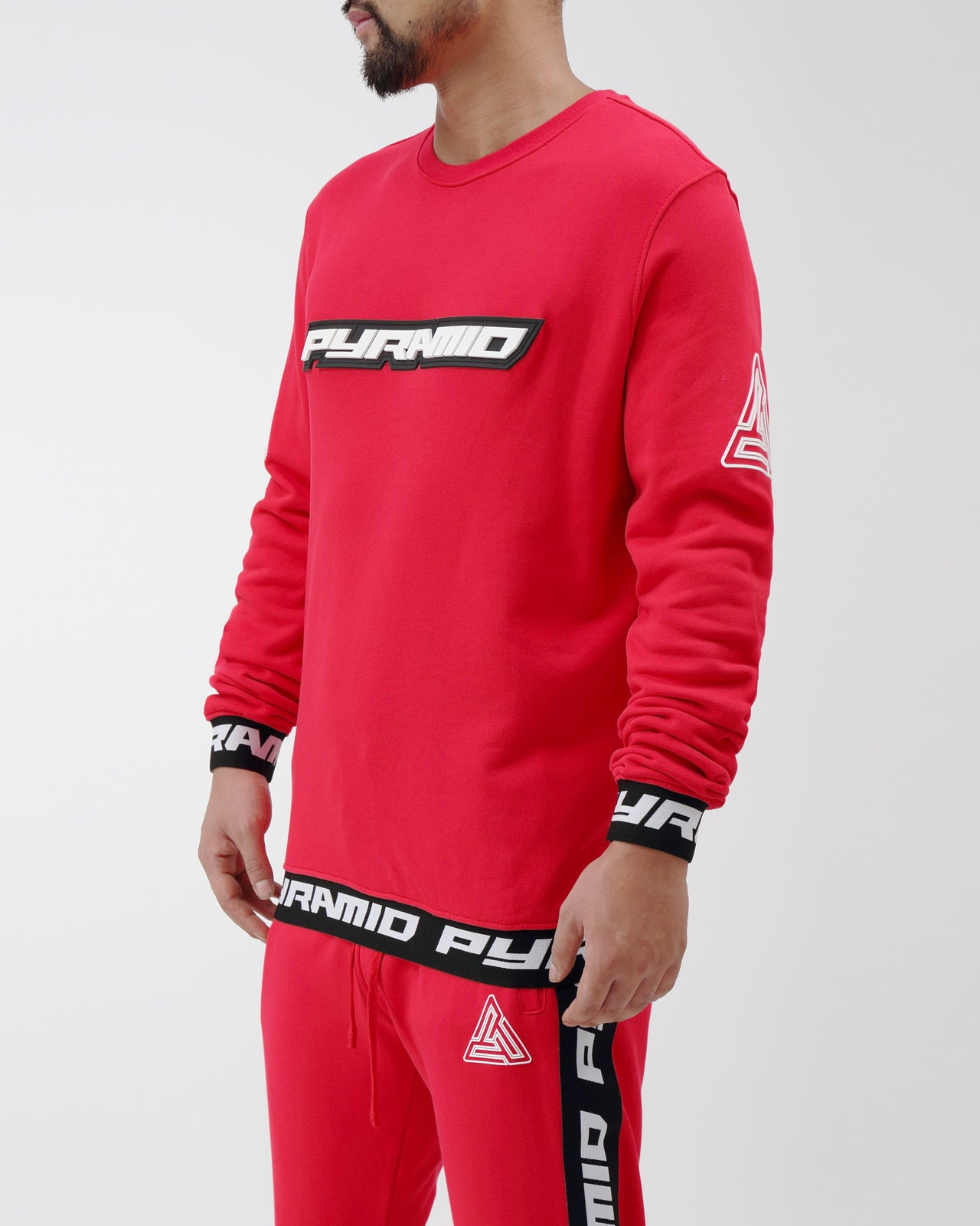 Pyramid Sweatshirt - Color: Red