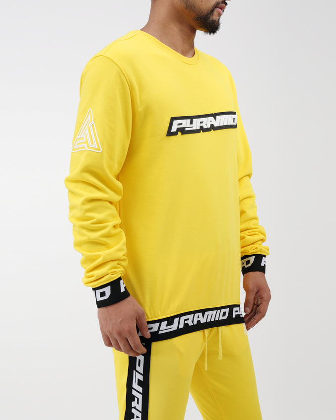 Pyramid Sweatshirt - Color: Yellow