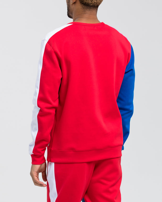BP Athletic Color Sweatshirt - Color: RED