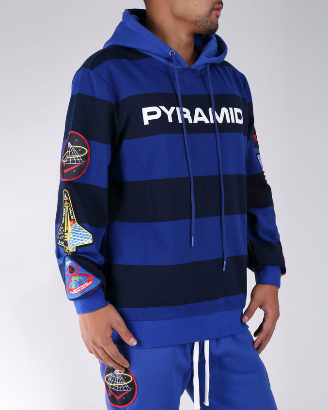 Bp Space Hoodie - Color: Blue