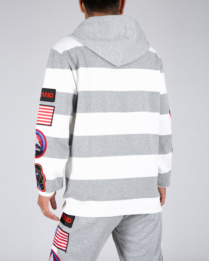 Bp Space Hoodie - Color: Heather Gray