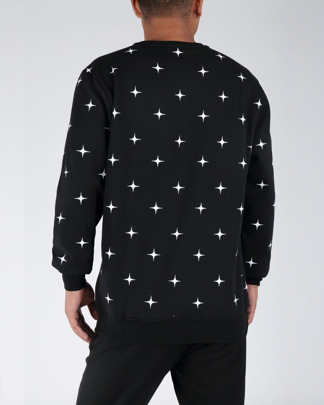ASTRONAUT LADY SWEATSHIRT - Color: BLACK