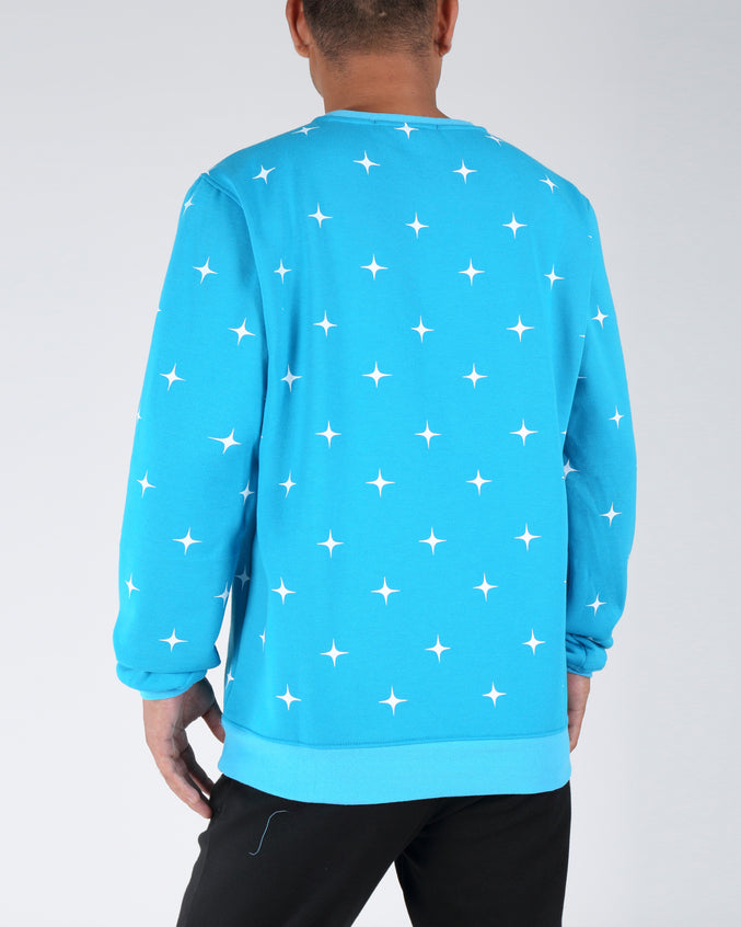 ASTRONAUT LADY SWEATSHIRT - Color: BLUE