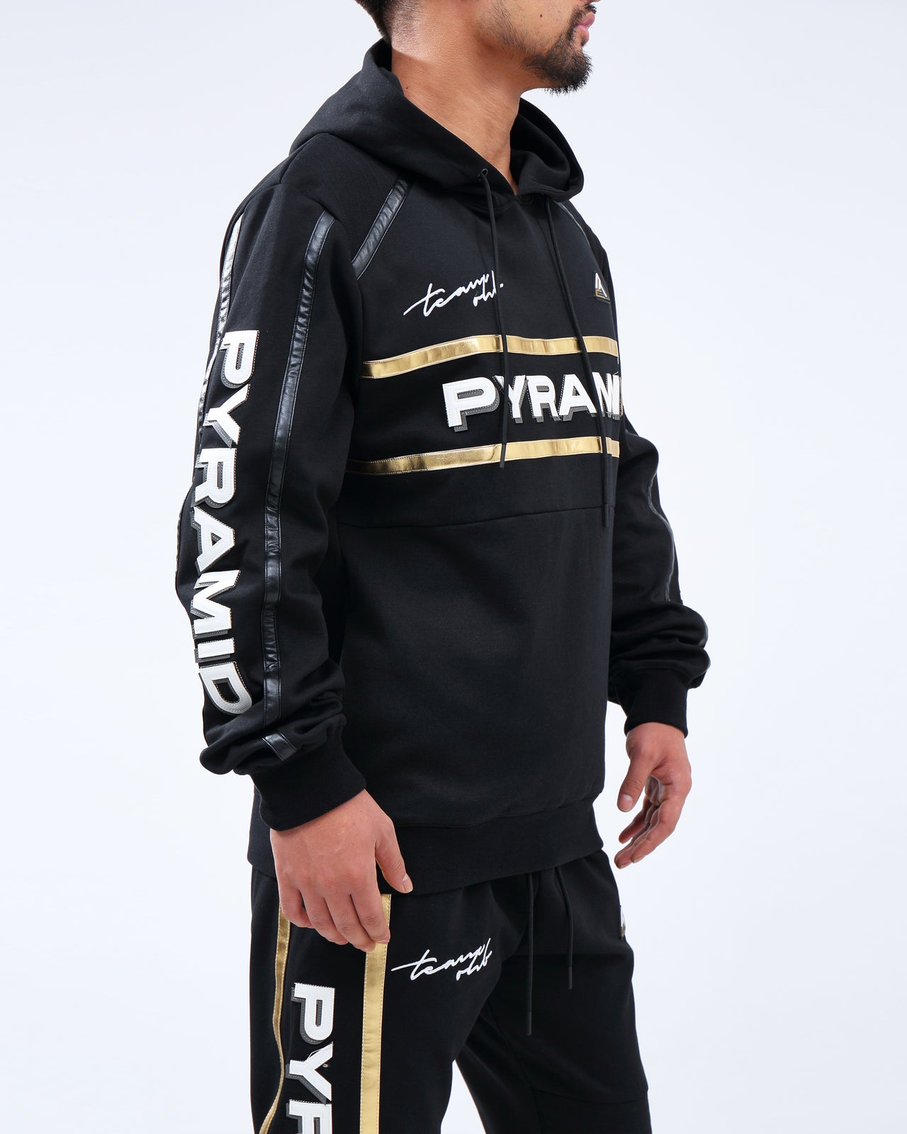 TEAM OHB BLACKOUT HOODY - Color: Black