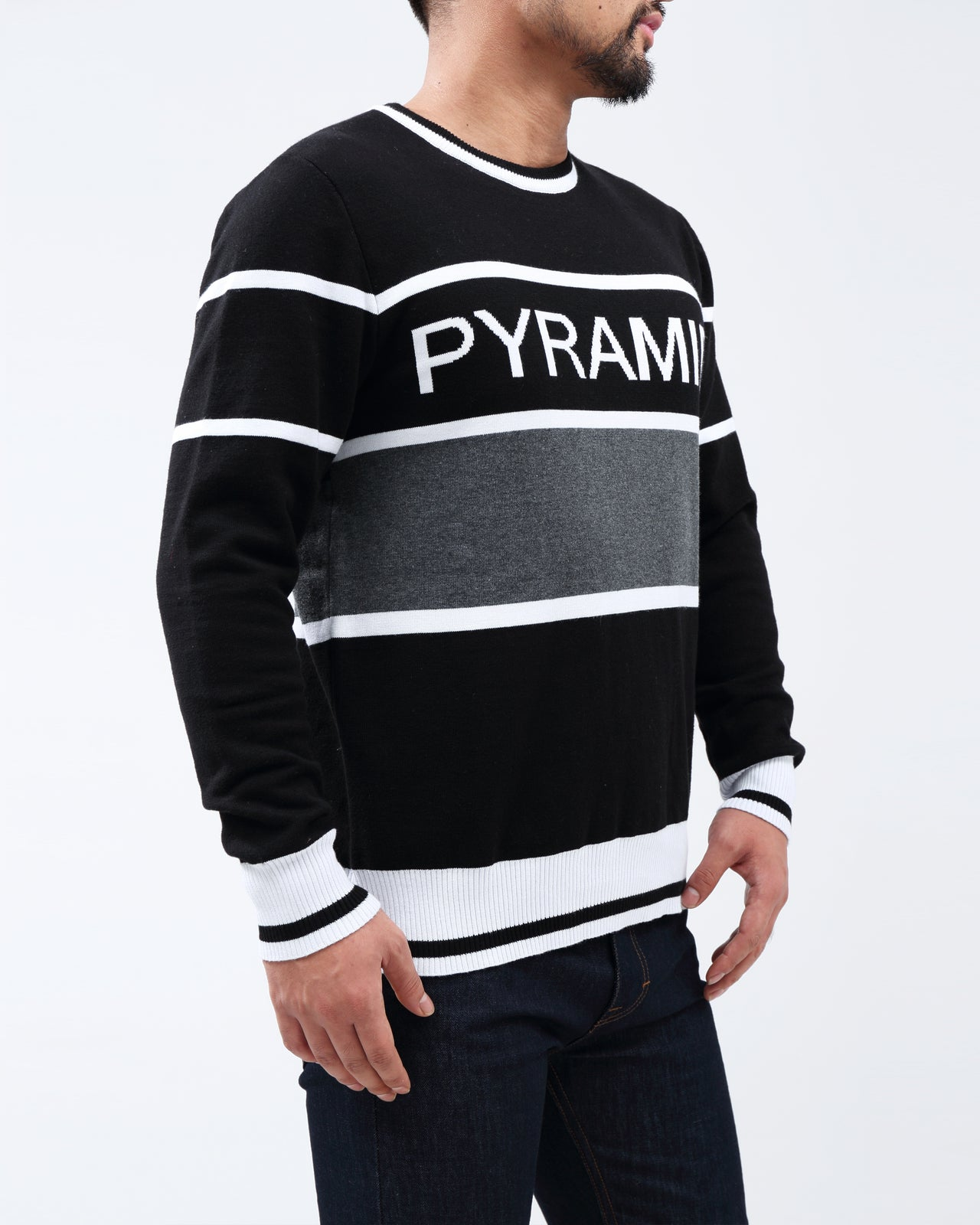 BP Tipping Crewneck Sweater - Color: Black