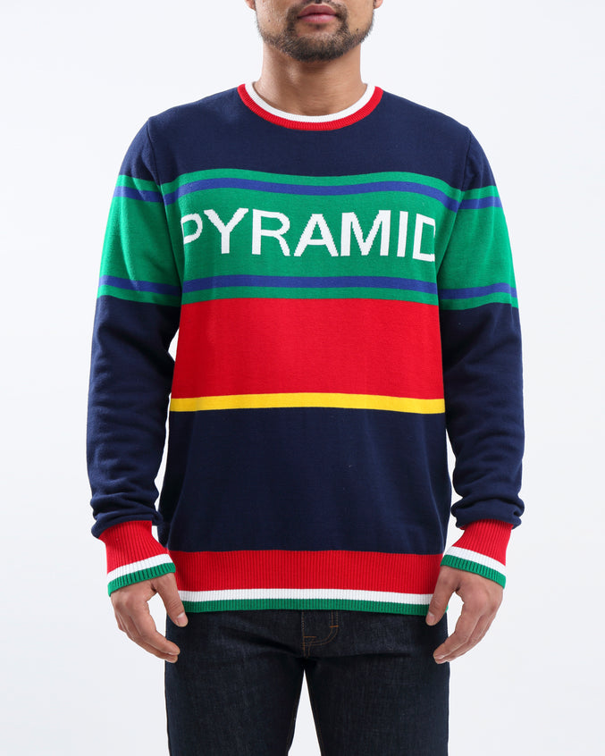 BP Tipping Crewneck Sweater - Color: Blue