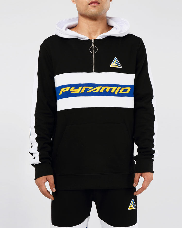 CENTER STRIPE HOODY