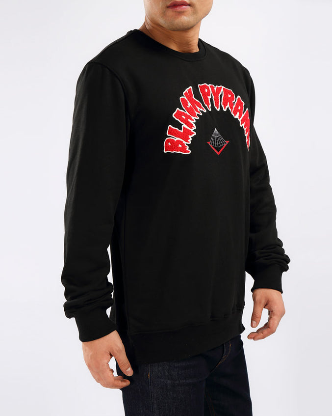 THE BIG OG DIP CREWNECK-COLOR: BLACK