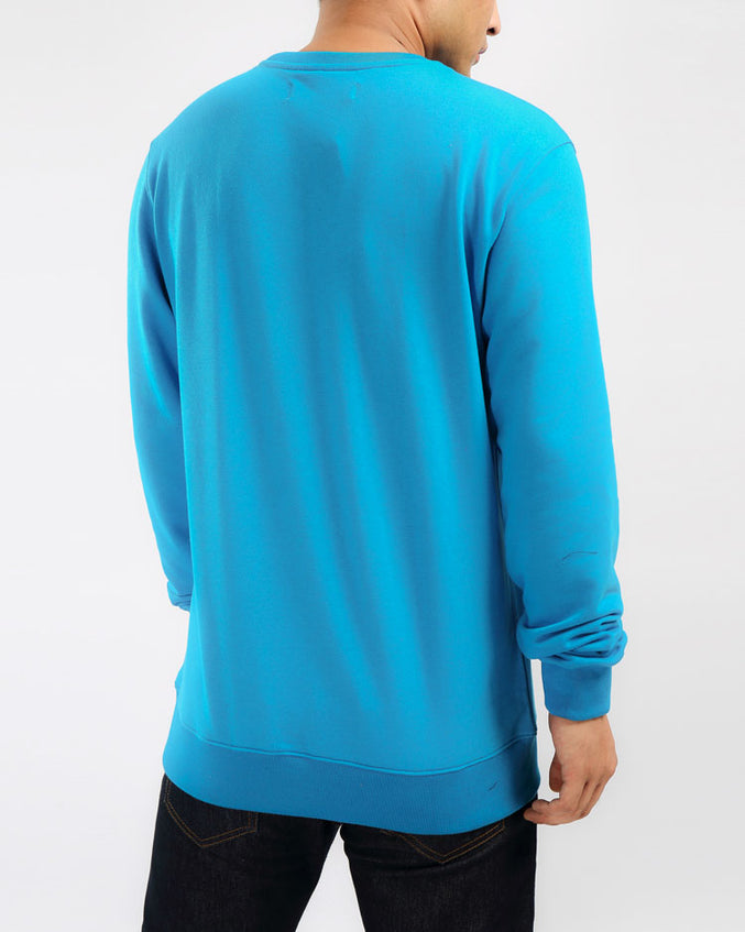 THE BIG OG DIP CREWNECK-COLOR: LT BLUE