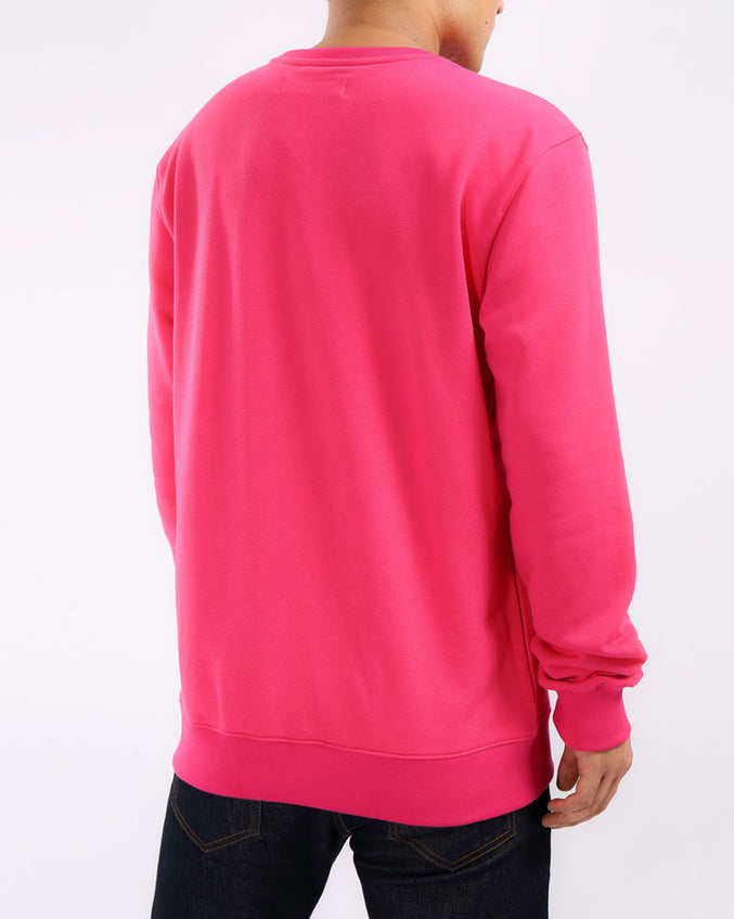 THE BIG OG DIP CREWNECK-COLOR: PINK
