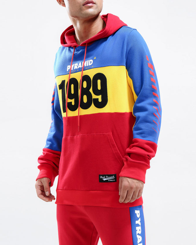 1989 HOODY-COLOR: RED